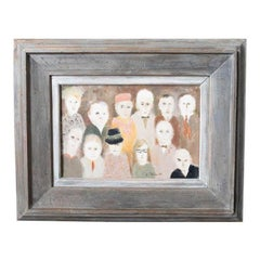 Expressionist Figures Oil Painting