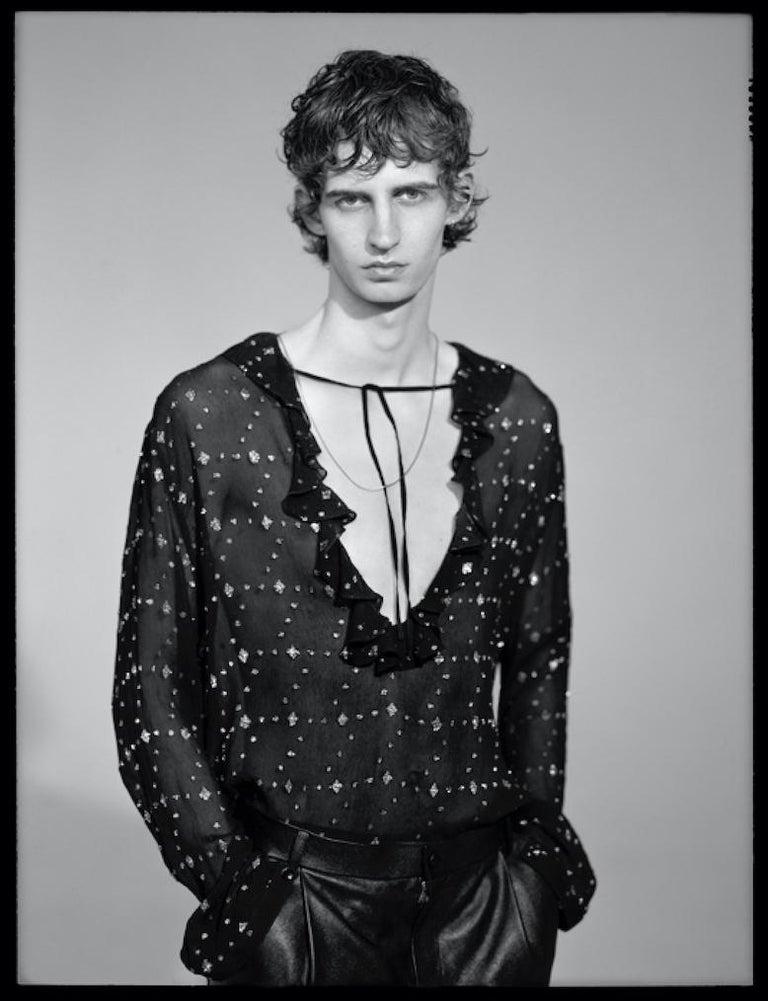 Nacho Pinedo Portrait Photograph - Nacho 6. 70 in x 47 in  (Black and White) (Fashion)