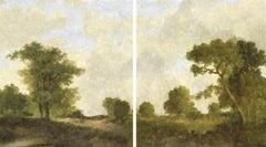 Paisaje De Goya (Diptych)