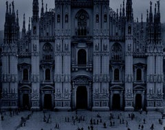 Duomo, 2003   47 in x 70 in (Blue)