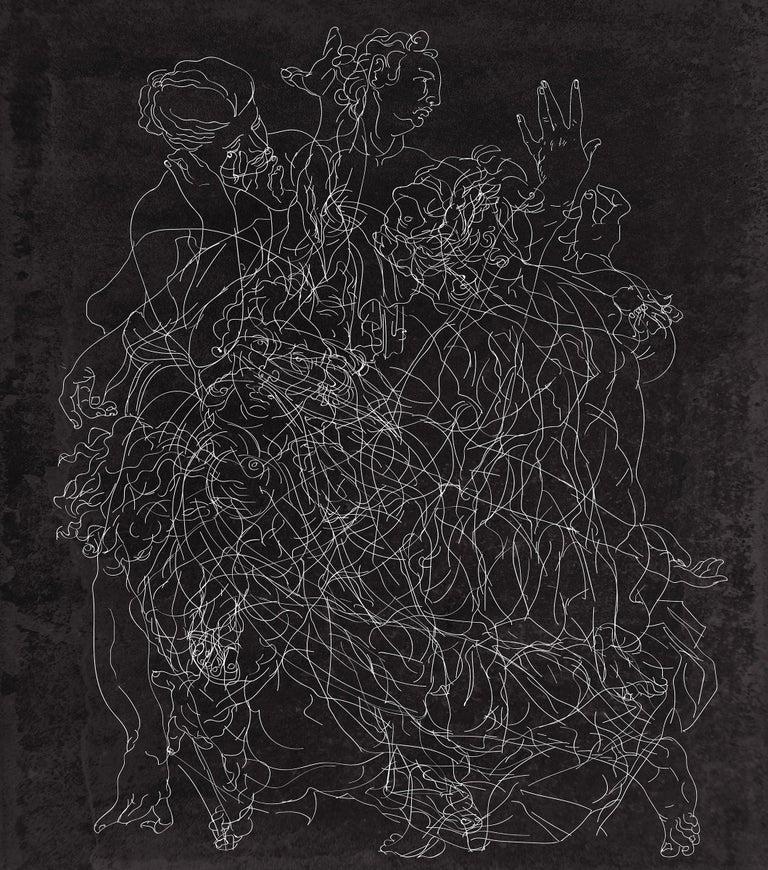 Jorge Zarco Abstract Photograph - Laugnieths 2, Negative