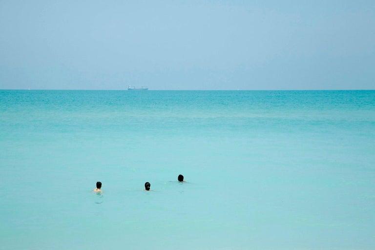 Alberto Coto Landscape Photograph - Waiting, Miami Beach