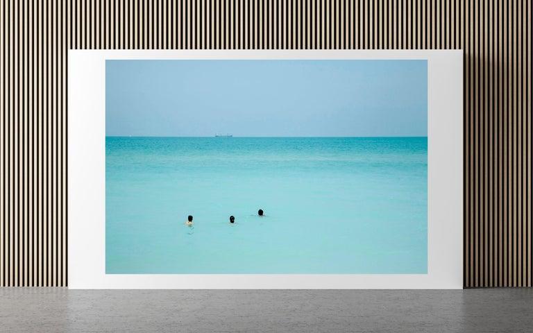 Waiting, Miami Beach - Photograph by Alberto Coto