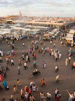 The Market, Marrakech    70 in x 47 in