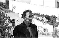 Salvador Dali 8   47 in x 70 in (Black and White)
