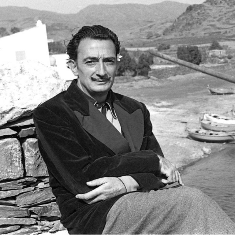 Salvador Dali 5    47 in x 70 in - Photorealist Photograph by Jose Luis Beltran Gras