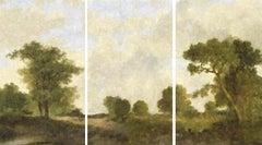 Paisaje De Goya (Triptych)