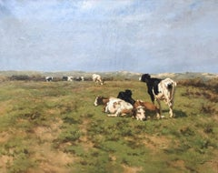 """COWS IN THE DUNES"""