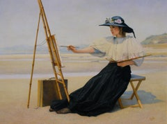 Woman at the Easel