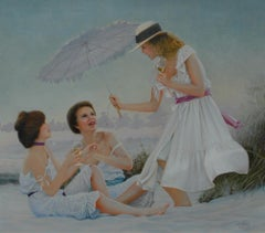 Three Ladies on a Beach