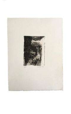 Limited Edition 2006 Marielle Guégan French Artist Gravure/Engraving
