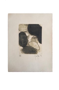 Limited Edition Marielle Guégan French Artist Gravure/Engraving