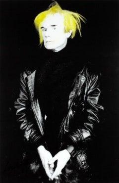 Andy Warhol New York original photography signed circa 1980