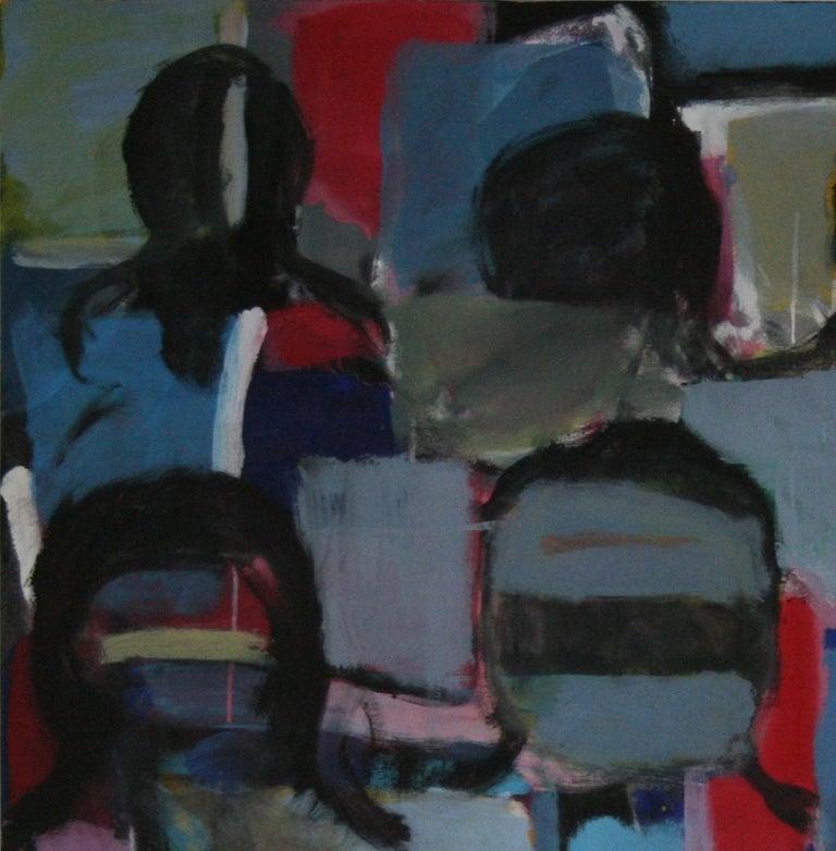 Nathalie Fontenoy French Artist  Au Balcon