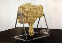 "Untitled ""Hand"" Sculpture installation by Michael Sailstorfer  German Artist"