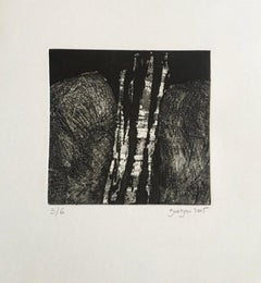 Limited Edition 2005 Marielle Guégan French Artist Gravure/Engraving