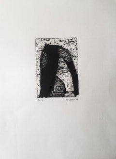 Limited Edition 2007 Marielle Guégan French Artist Gravure/Engraving