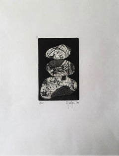 Limited Edition 2009 Marielle Guégan French Artist Gravure/Engraving
