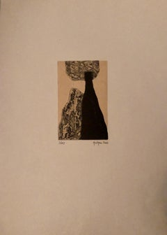 Marielle Guégan French Artist Limited Edition Gravure/Engraving 2006