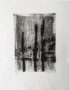 Marielle Guégan French Artist Limited Edition Gravure/Engraving 2005