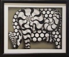 "Visual Art ""Pastora II. "" acrylic on canvas, 2007"