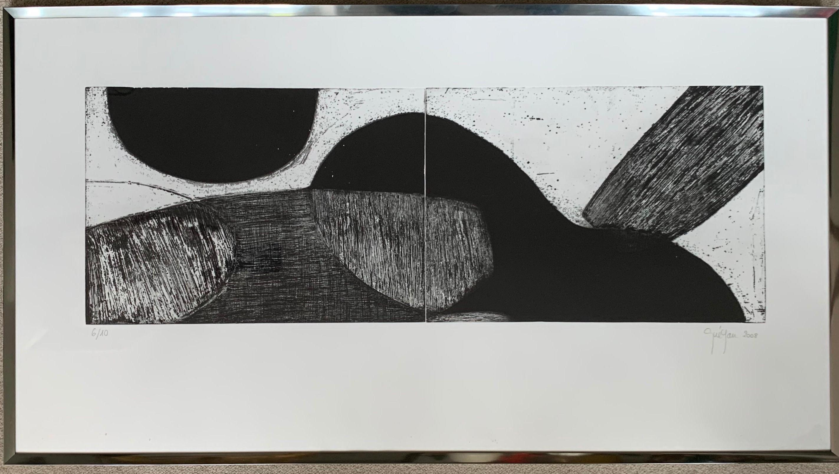 French Artist Gravure/Engraving, etching and Carborundum