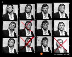 Daniel Craig Contact Sheet (Limited Edition of 25) - Celebrity Photography
