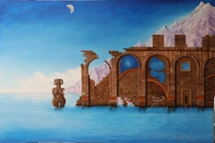 Agnoiaphobia: Per Sempre, Non C'E - Oil Painting on Canvas