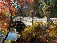 Autumn at the Bow Bridge (Limited Edition of 25) - Landscape Photography