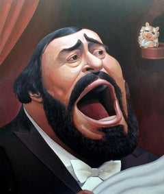 Luciano Pavarotti (Edition of 100) - Wall Art Caricature
