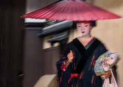 Geisha in the Rain (A) - Limited Editions of 15