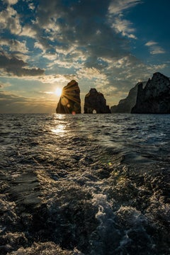 Faraglioni Rock Sunset (Limited Edition of 25) - Ocean Photography