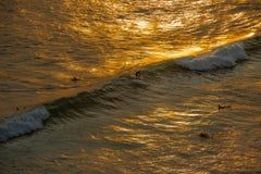 Sunset Surfing (Limited Edition of 25) - Ocean Photography