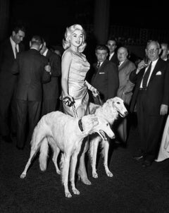 Jayne Mansfield with Seagrams Dogs (Limited Edition of 25, No 5-10) - Celebrity