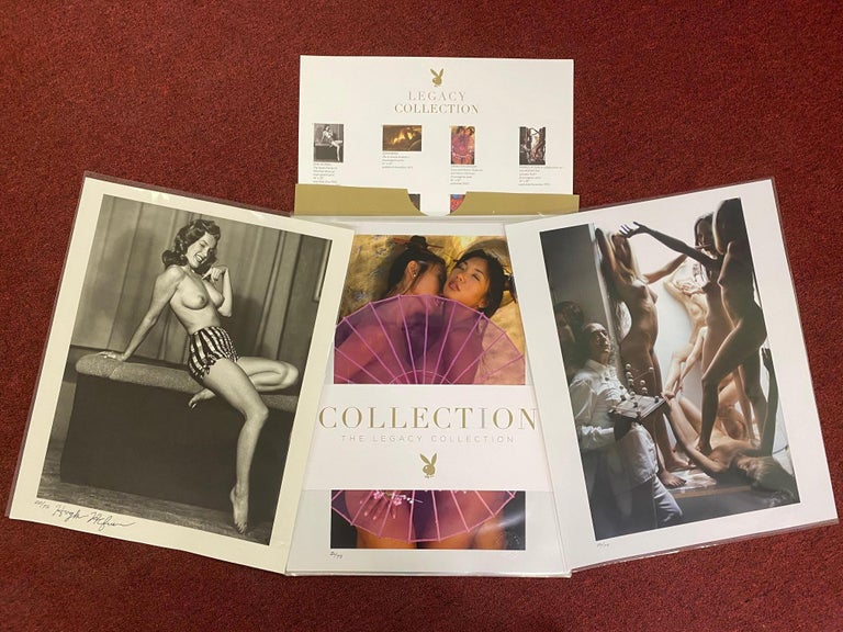 """PROVENANCE: From the Playboy Legacy Collection, authorized by Hugh M. Hefner  c. 2007; #20 of 75 authorized Playboy Legacy Editions  Only twenty-five were produced as an oak box set.  Set of forty-eight (48) 16"""" x 20"""" chromogenic and gelatin silver"""