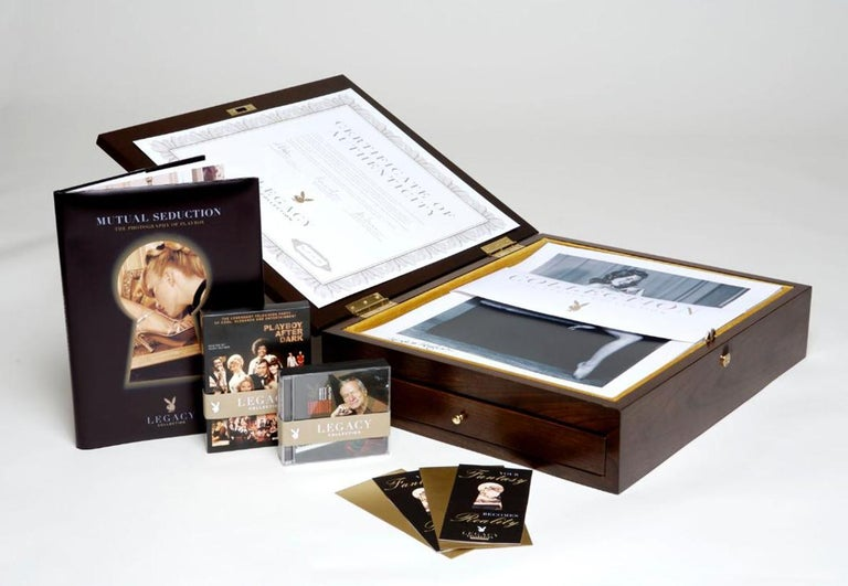 Playboy Legacy Boxed Set /Gold Edition - Authorized by: Hugh Hefner - #20 of 75  - Hard-Edge Mixed Media Art by Playboy Enterprises