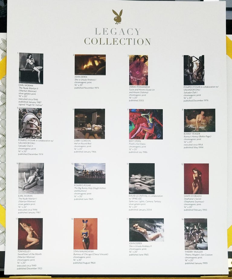 Playboy Legacy Boxed Set /Gold Edition - Authorized by: Hugh Hefner - #20 of 75  For Sale 5