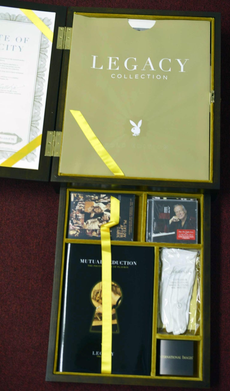 Playboy Legacy Boxed Set /Gold Edition - Authorized by: Hugh Hefner - #20 of 75  For Sale 1