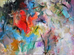 Dance-Painting, Colorful Abstract