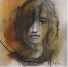 Comme j'imagine - Painting, Charcoal, Acrylic, Oil, Expressionism, Faces