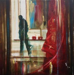 The Decision - Oil Painting, Bold Colors, Powerful by artist Samayoa