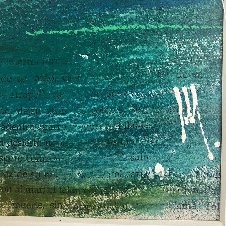Deserito - Painting, Landscape, Textured, Warm Colors For Sale 1