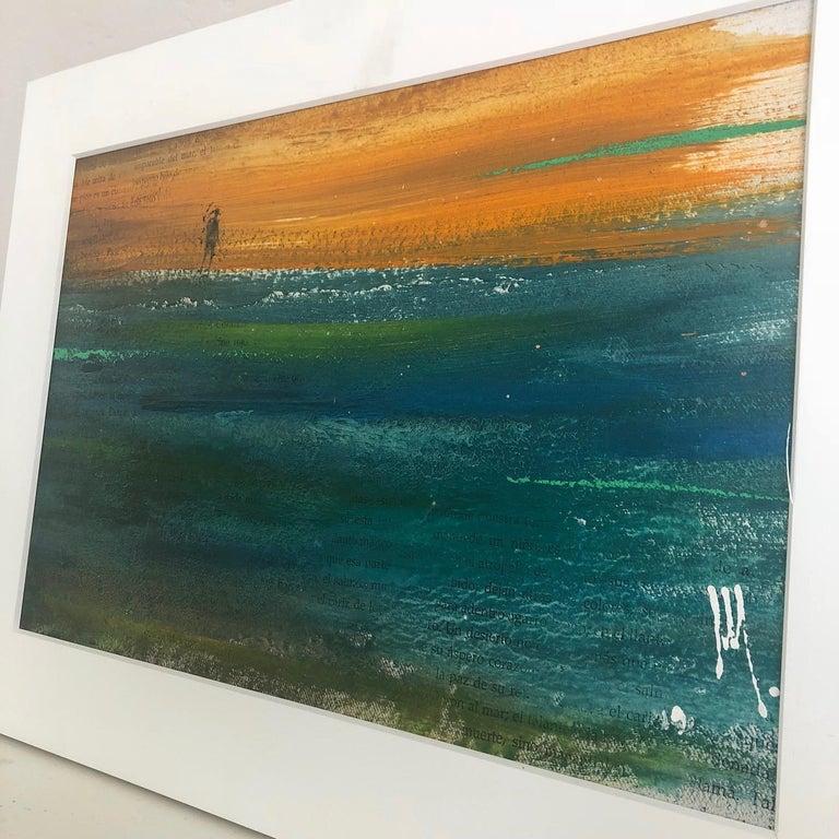 Deserito - Painting, Landscape, Textured, Warm Colors For Sale 2