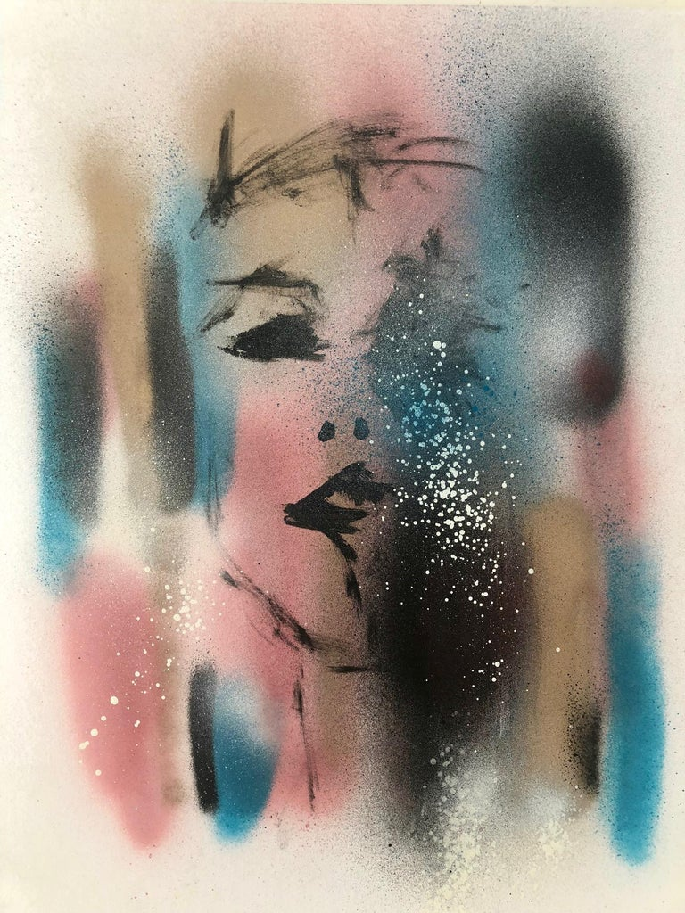 Miss Meek - Abstract Expressionist Art by Paul Kaplan