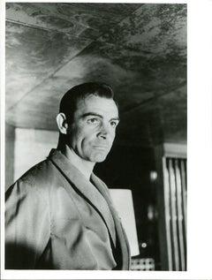 "Sean Connery as James Bond in ""Nr. No"""