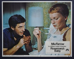 """""""Rosemary's Baby"""" Vintage American Lobby Card of the Movie, USA 1968."""
