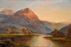 Oil Painting 'A Scottish River' by Graham Williams