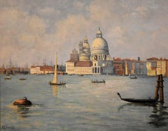 Oil Painting 'The Molo Venice' by John Ernest Foster