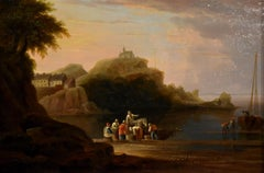"Oil painting by John Wallace Tucker ""Ilfracombe"""
