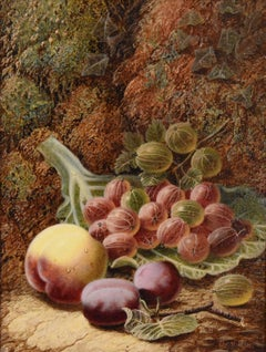 """Oil painting by Oilver Clare """"Gooseberries"""""""